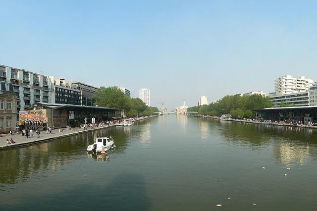 800px Canal Saint Martin Vu De Vers La Rotonde De La Villette