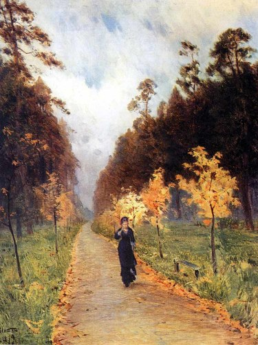 Autumn in Sokolniki By Isaac Levitan - from Wikipedia