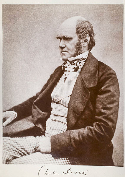 Charles Darwin Aged 51 - from Wikipedia