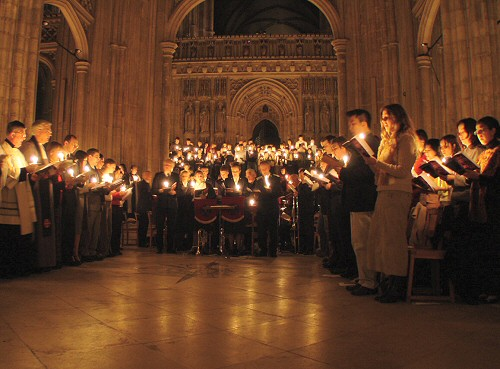Choir in Canterbury Cathedral