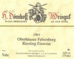 Eiswein Label