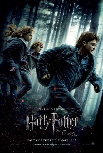 Harry Potter and the  Deathly Hallows, Part 1 .