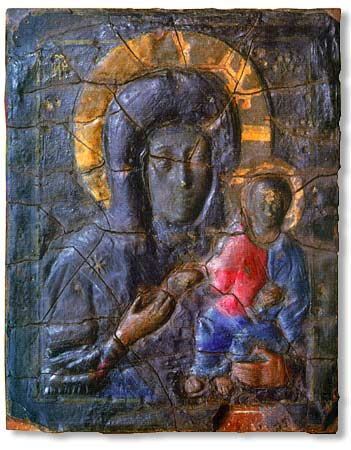 Icon from the Church of Vlachernae, Istanbul - from Wikipedia