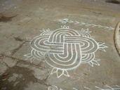 Kolam at Coimbatore