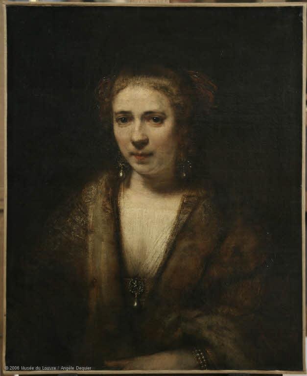 Louvre Hendrickje Stoffels Copy