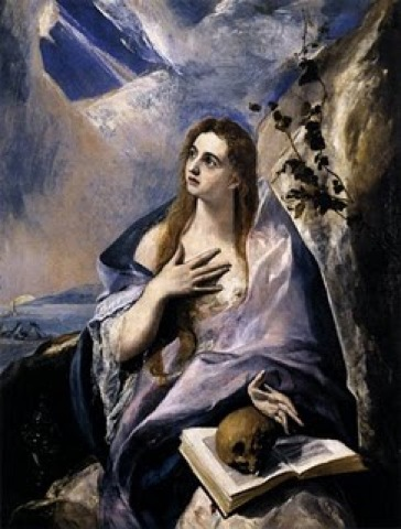 Mary Magdalen In Penitence El Greco
