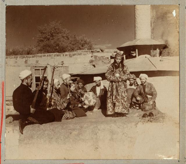 Musicians in Samarkand, circa 1915
