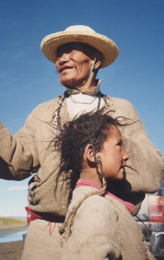 Nomad Father And Daughter
