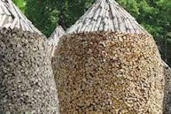 Norwegian Wood Pile