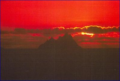 Skellig Sunset