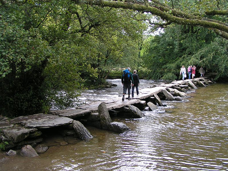 Tarr Steps Bridge, Exmoor - Wikipedia