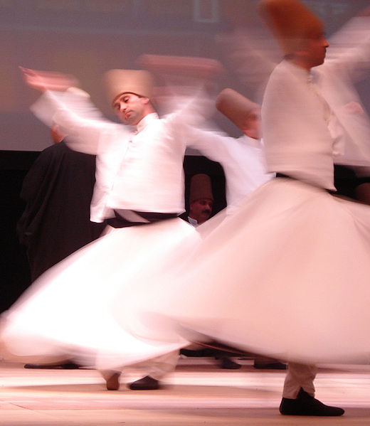 The Mevlevi Whirling Dervishes