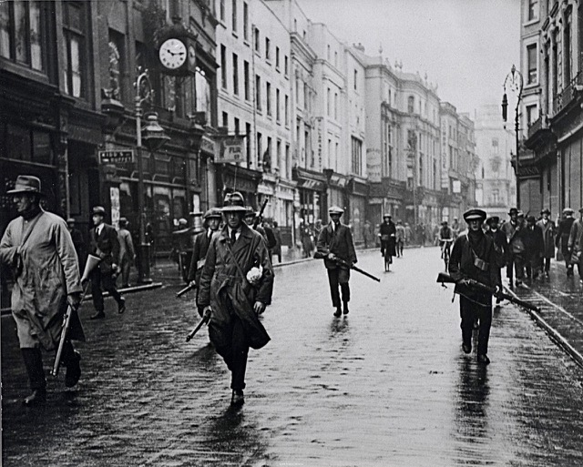 Civil War, Republican Irregulars on Grafton Street 1922
